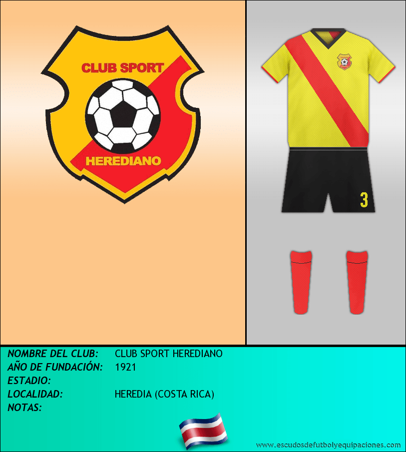 Escudo de CLUB SPORT HEREDIANO