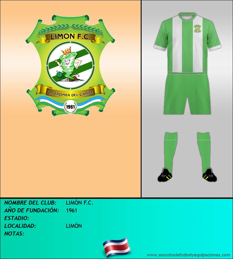 Escudo de LIMÓN F.C.