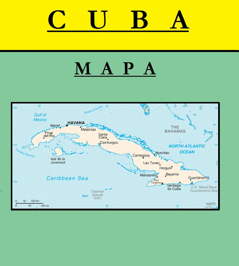 Escudo de MAPA DE CUBA