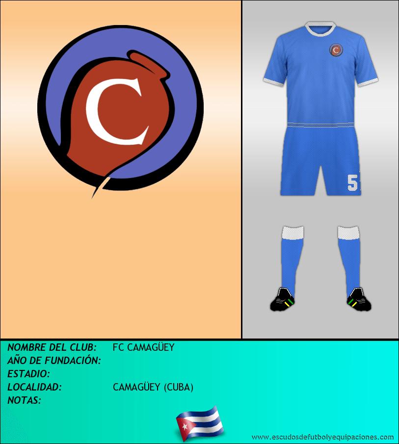 Escudo de FC CAMAGÜEY