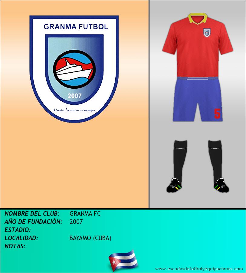 Escudo de GRANMA FC