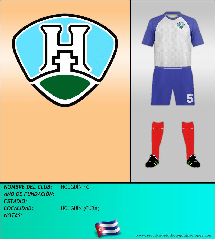 Escudo de HOLGUÍN FC