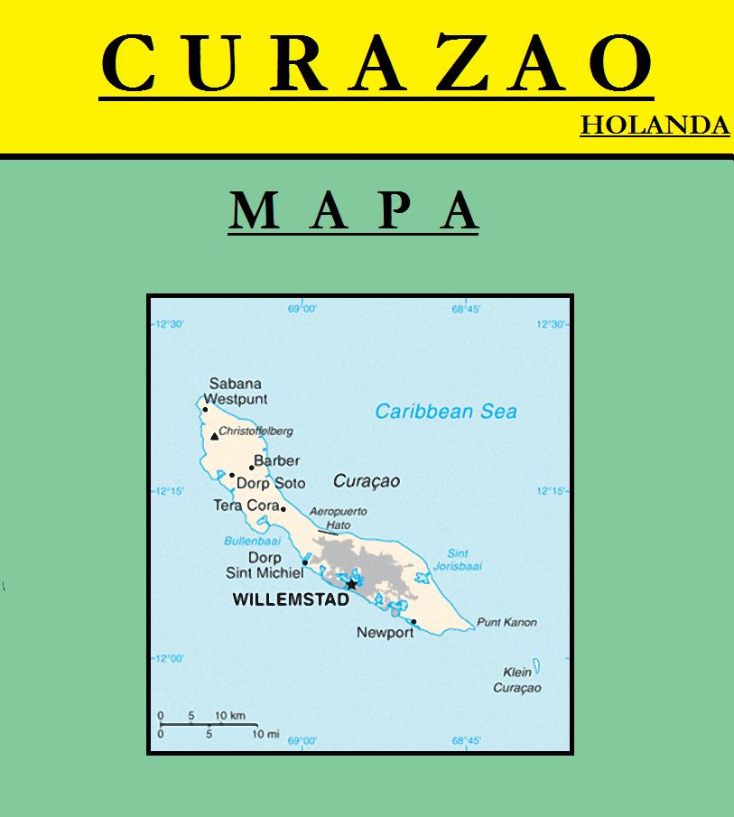 Escudo de MAPA DE CURAZAO