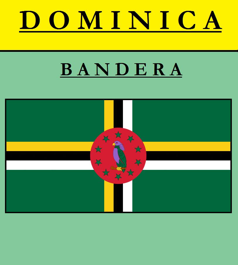 Escudo de BANDERA DE DOMINICA
