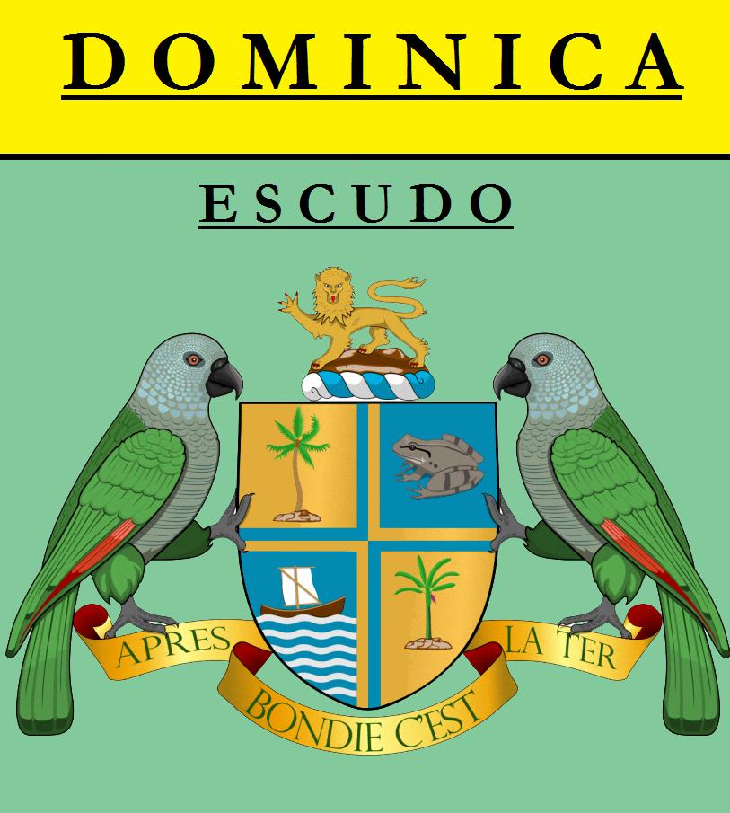 Escudo de ESCUDO DE DOMINICA
