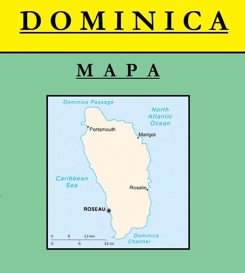 Escudo de MAPA DE DOMINICA