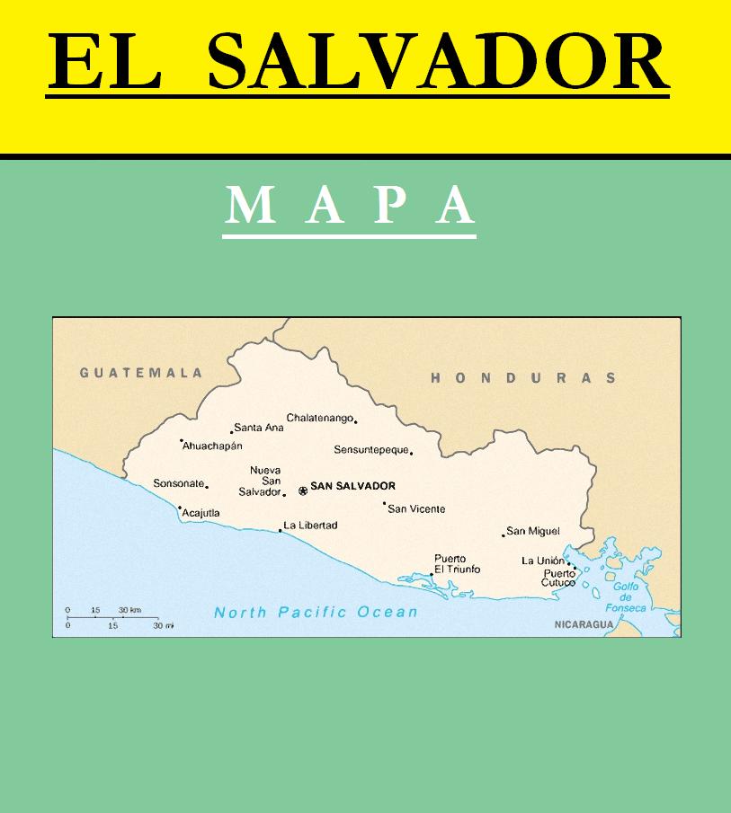 Escudo de MAPA DE EL SALVADOR