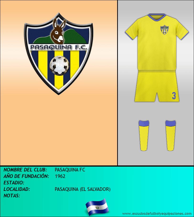 Escudo de PASAQUINA FC
