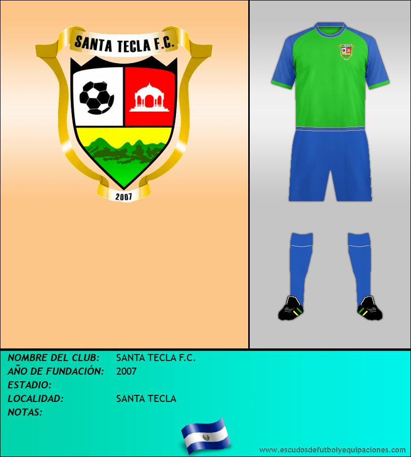 Escudo de SANTA TECLA F.C.