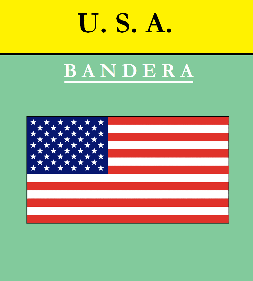 Escudo de BANDERA DE ESTADOS UNIDOS