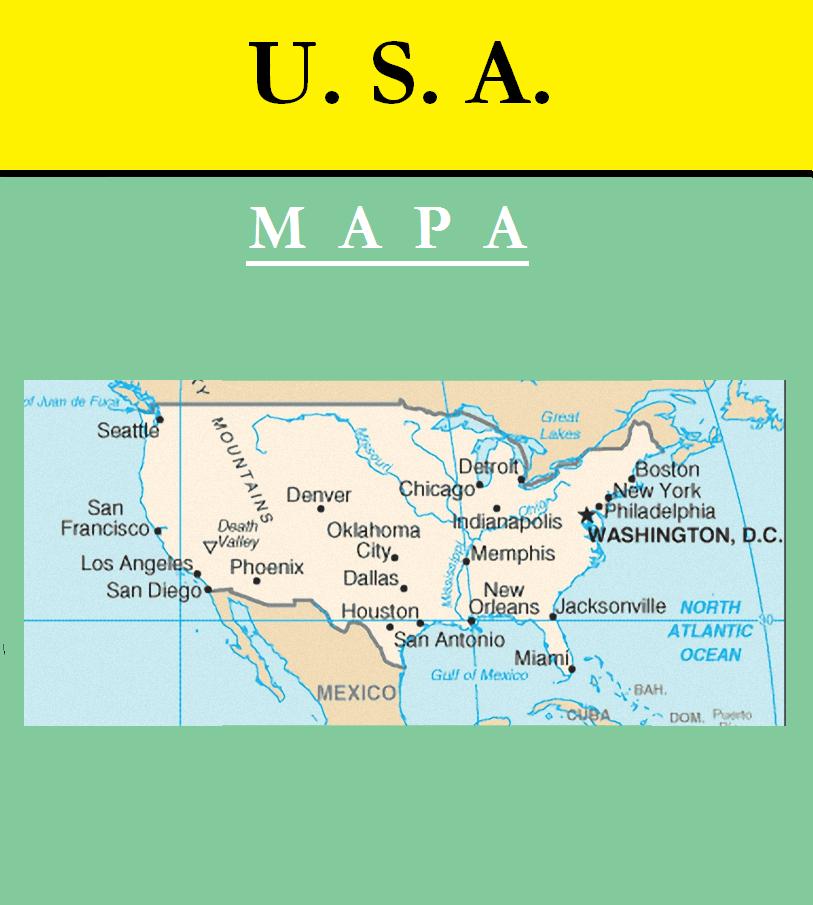 Escudo de MAPA DE ESTADOS UNIDOS