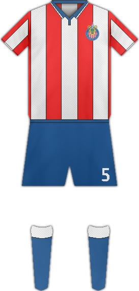 Equipación C.D. CHIVAS USA