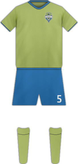 Equipación SEATTLE SOUNDERS FC
