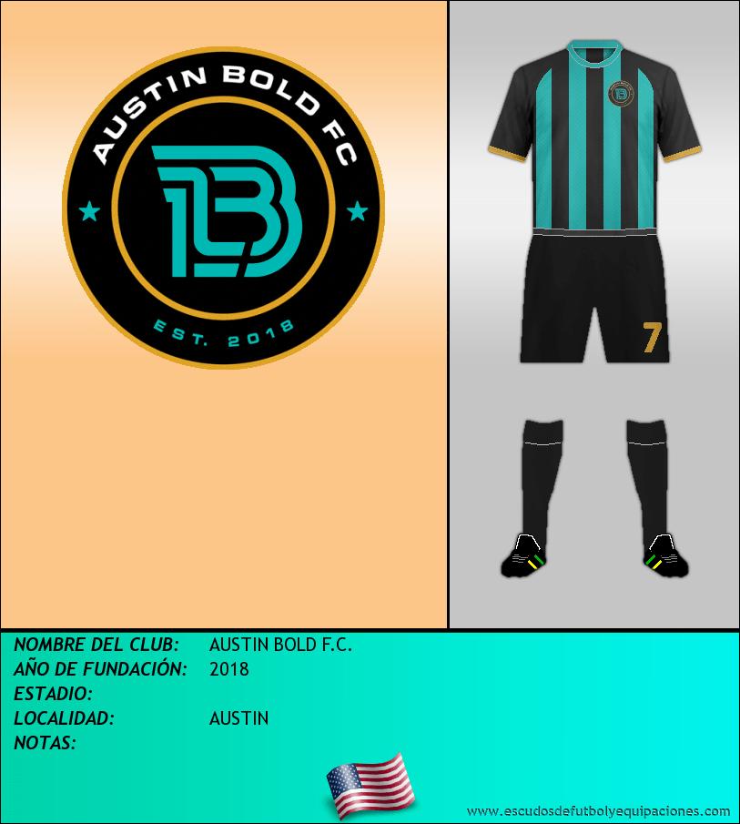 Escudo de AUSTIN BOLD F.C.