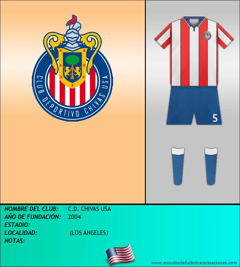 Escudo de C.D. CHIVAS USA