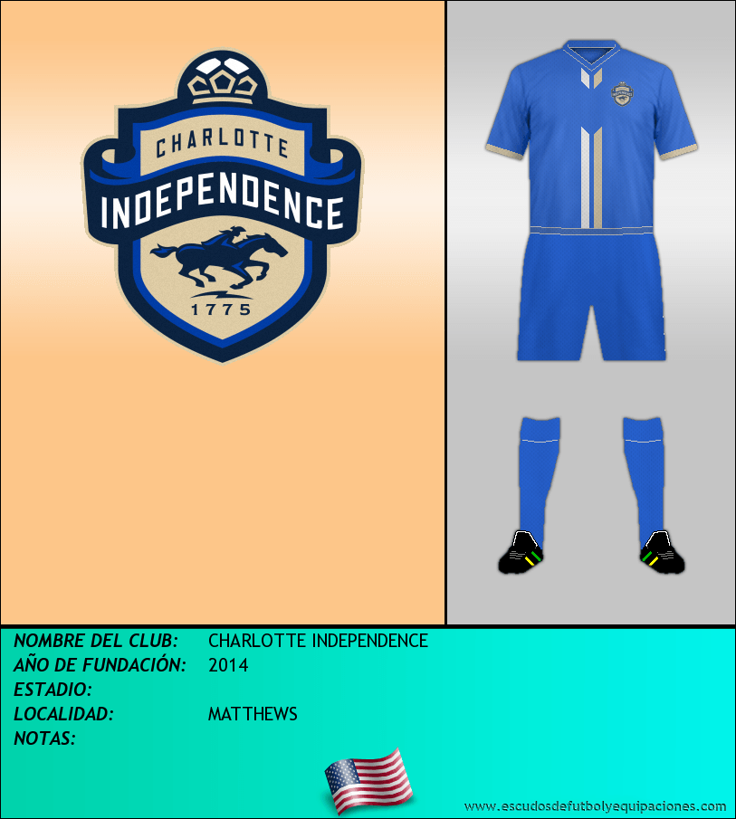 Escudo de CHARLOTTE INDEPENDENCE