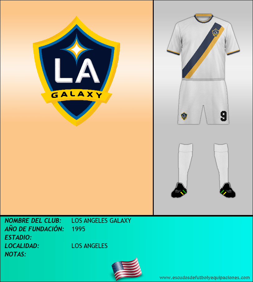 Escudo de LOS ANGELES GALAXY