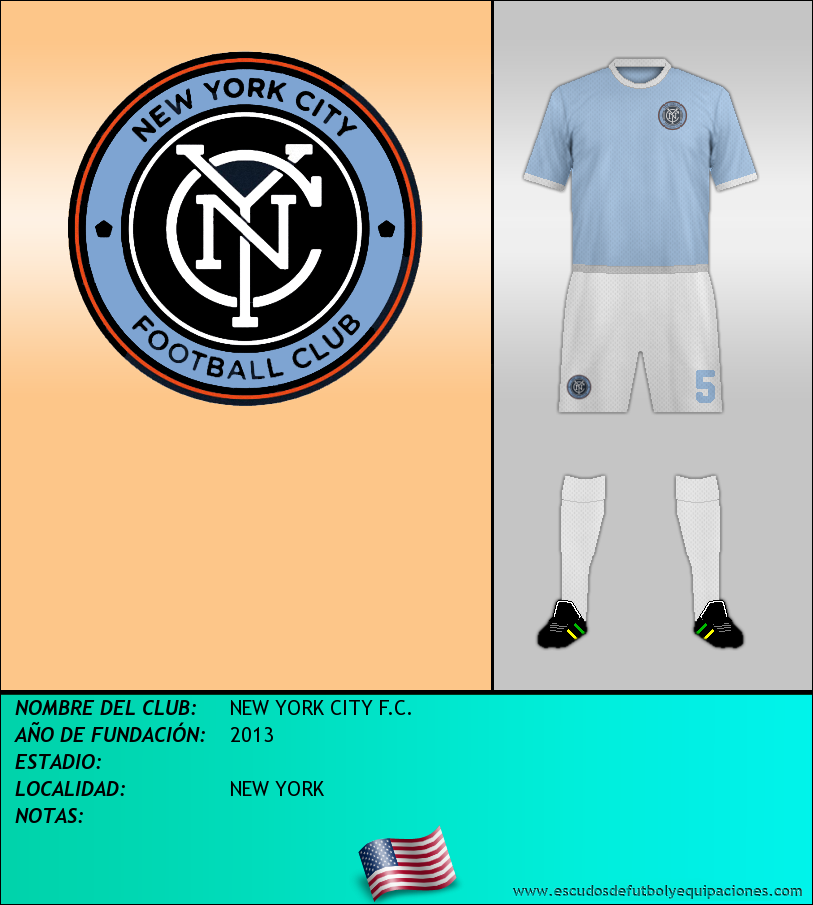 Escudo de NEW YORK CITY F.C.