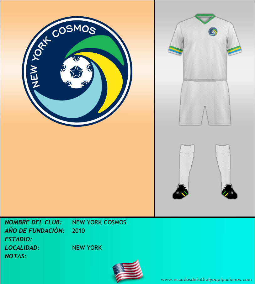 Escudo de NEW YORK COSMOS