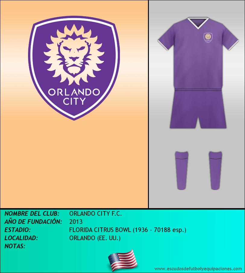 Escudo de ORLANDO CITY F.C.