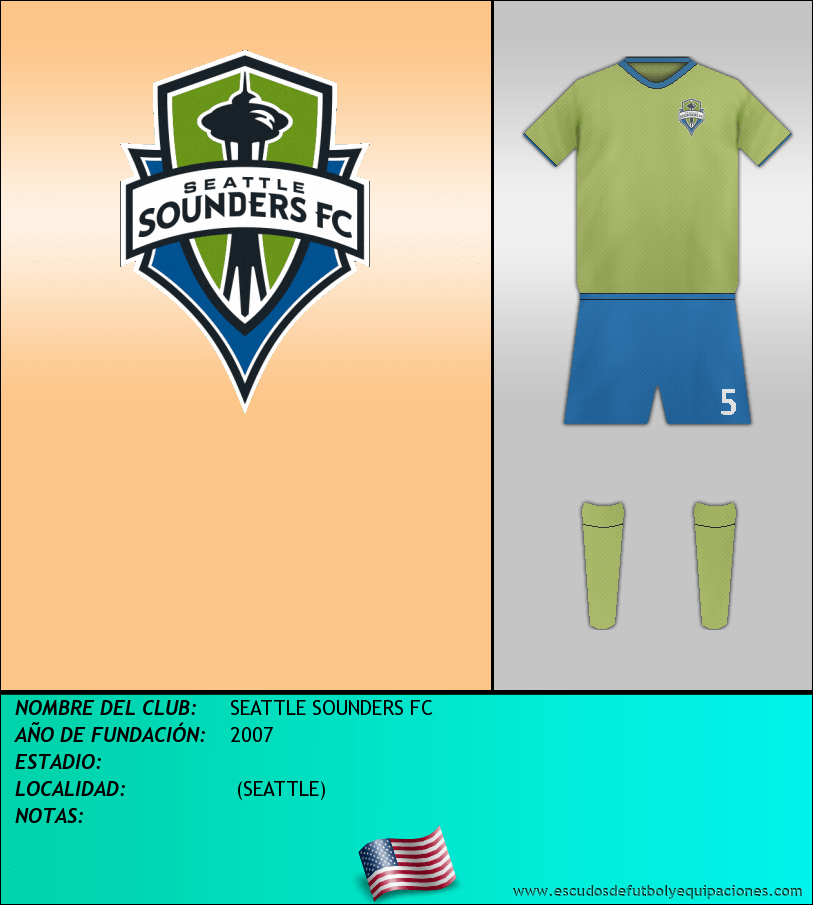 Escudo de SEATTLE SOUNDERS FC