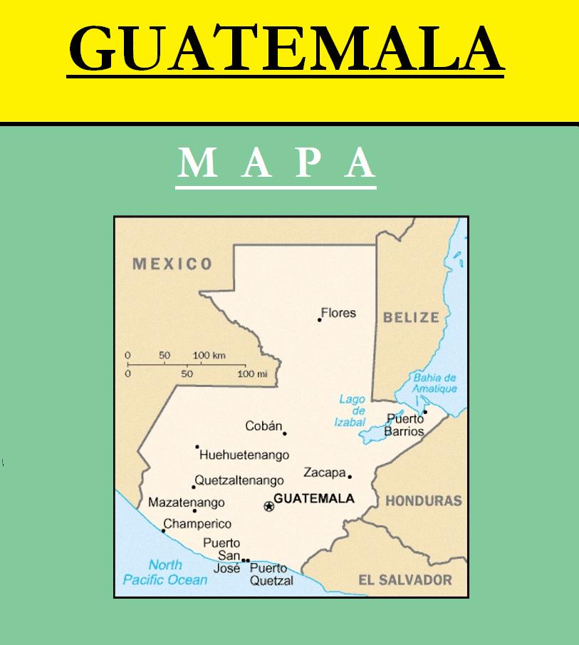 Escudo de MAPA DE GUATEMALA