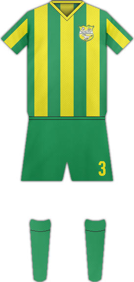 Equipación BARILLAS FC