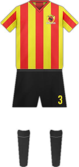 Equipación FC DEPORTIVO ZACAPA