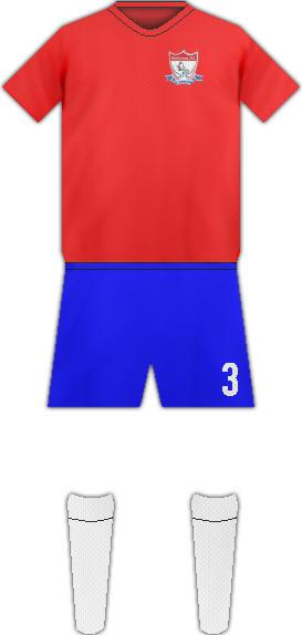 Equipación HALCONES F.C.