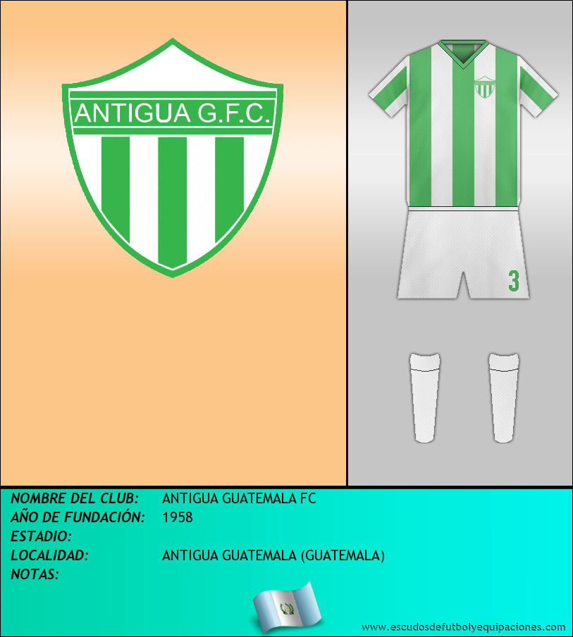 Escudo de ANTIGUA GUATEMALA FC
