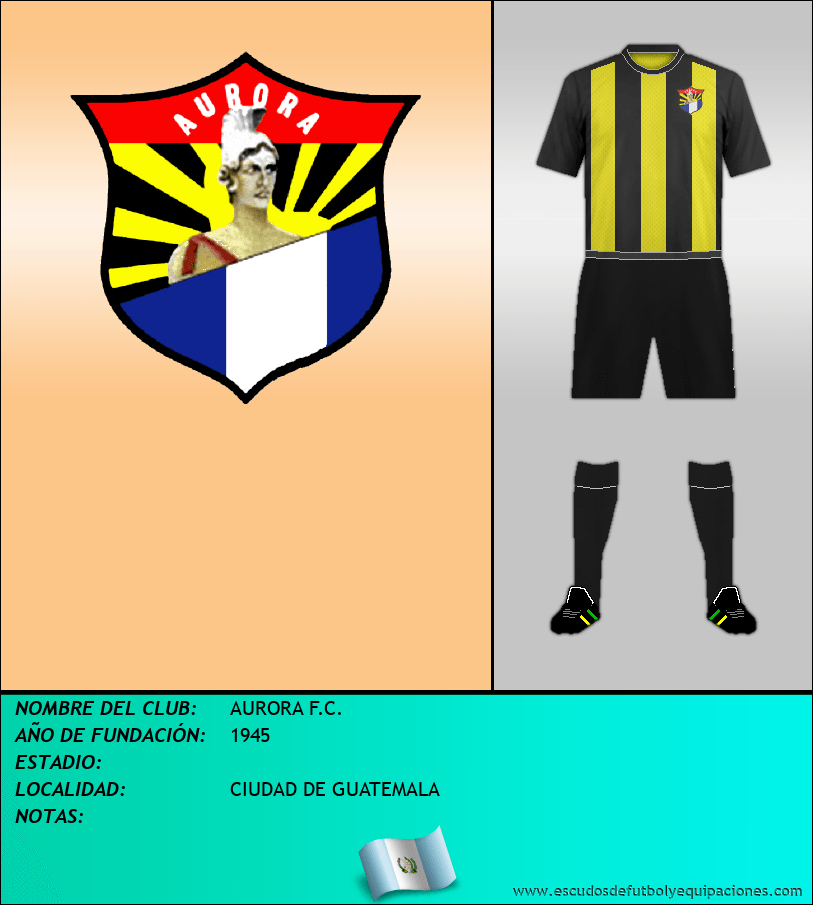 Escudo de AURORA F.C.