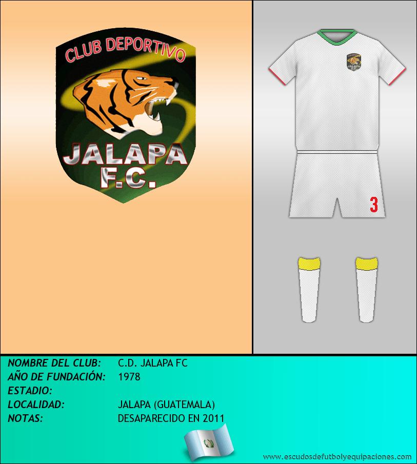 Escudo de C.D. JALAPA FC