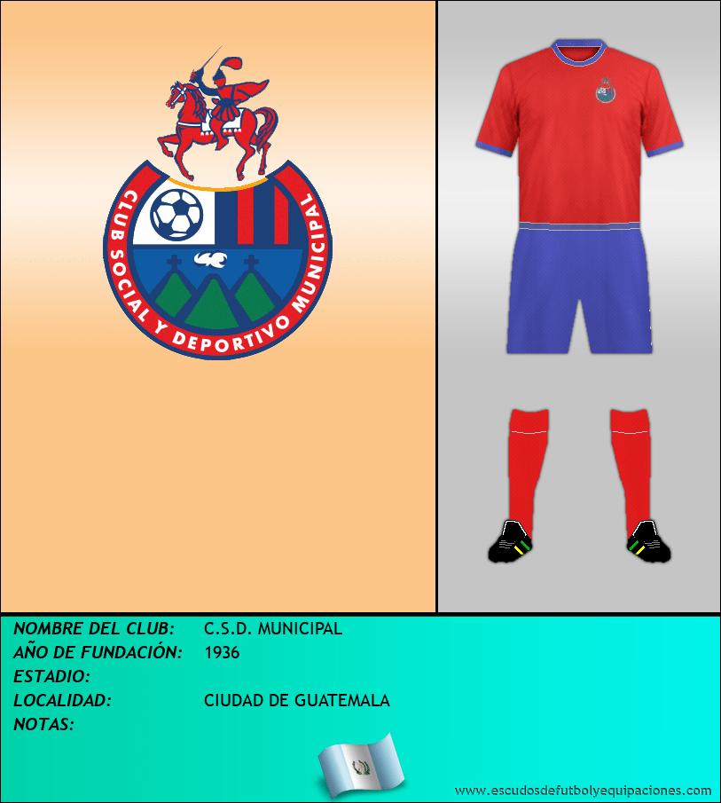 Escudo de C.S.D. MUNICIPAL