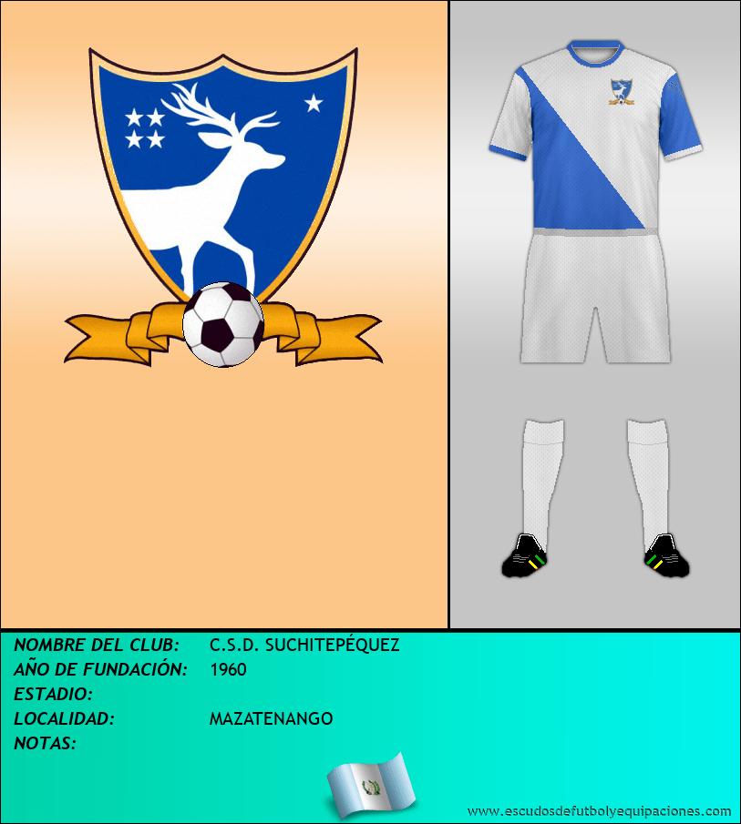 Escudo de C.S.D. SUCHITEPÉQUEZ