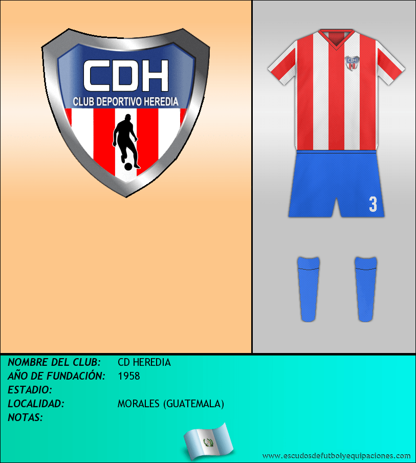 Escudo de CD HEREDIA