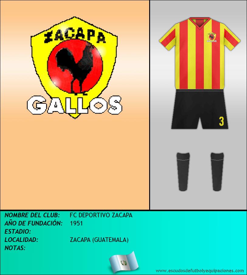 Escudo de FC DEPORTIVO ZACAPA
