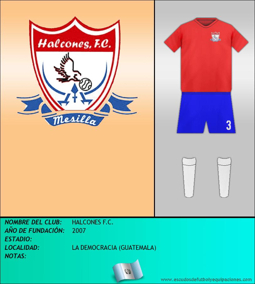 Escudo de HALCONES F.C.