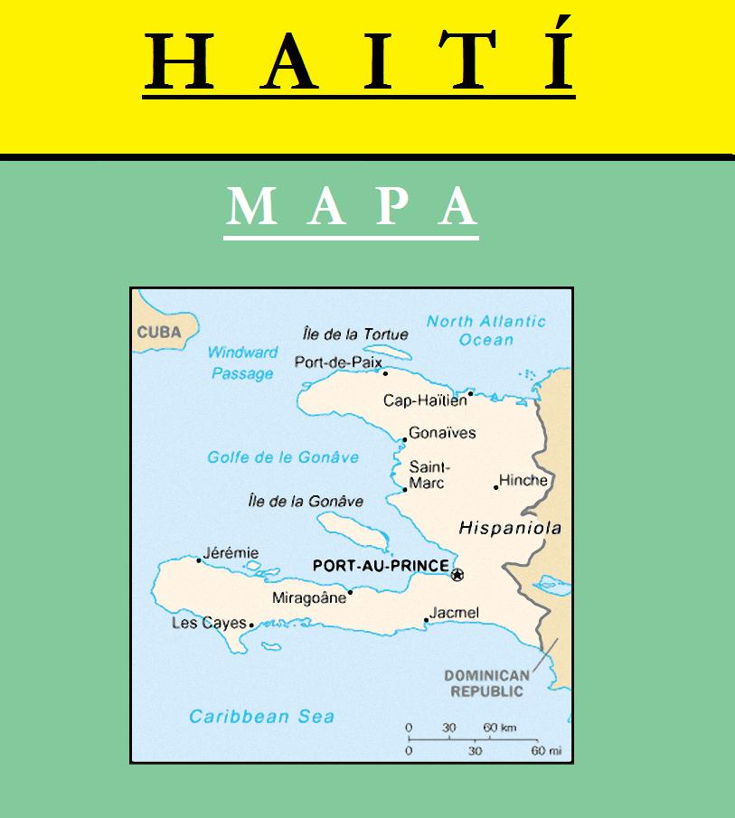 Escudo de MAPA DE HAITÍ
