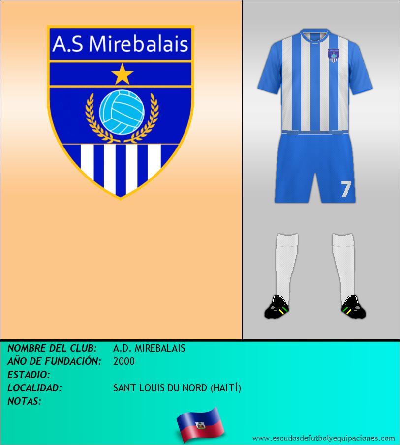 Escudo de A.D. MIREBALAIS
