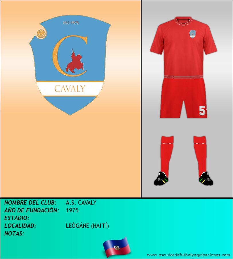 Escudo de A.S. CAVALY