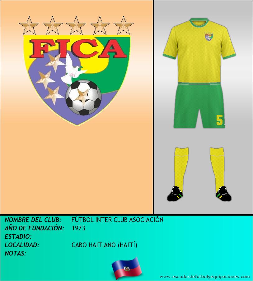 Escudo de FÚTBOL INTER CLUB ASOCIACIÓN