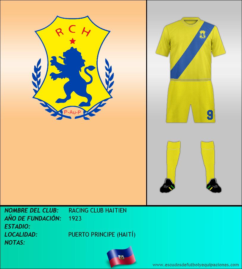 Escudo de RACING CLUB HAITIEN