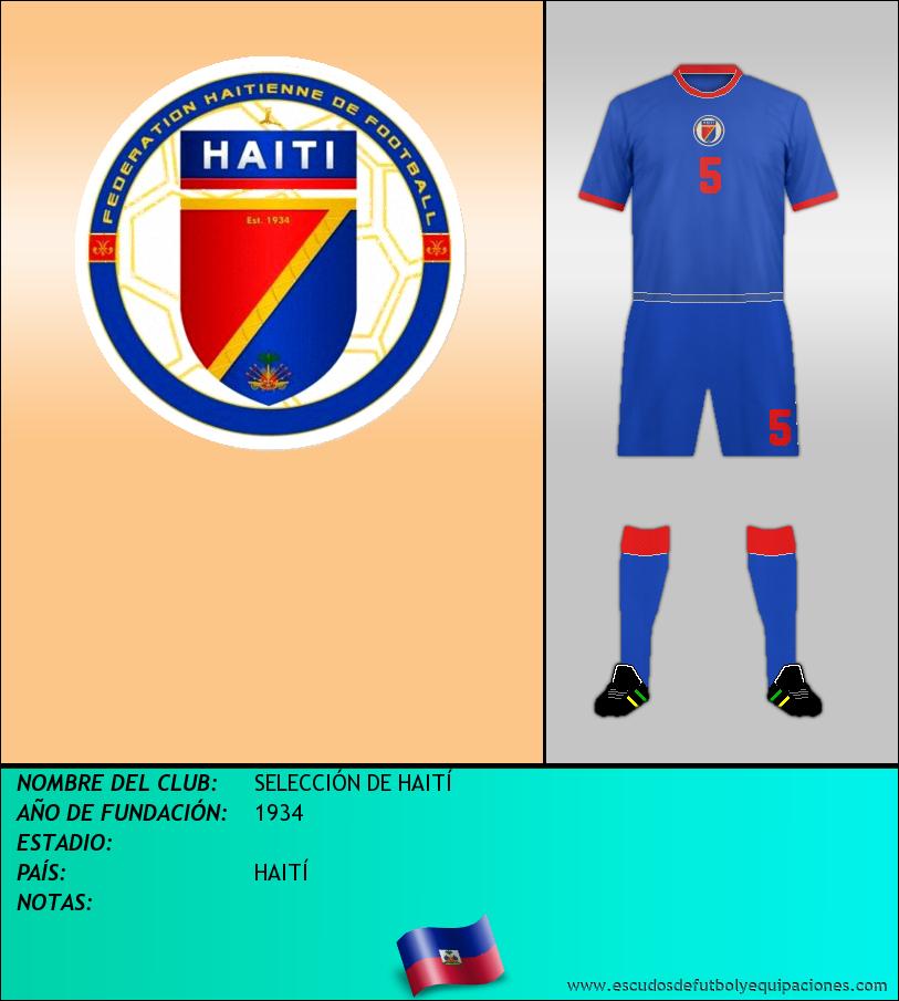 Escudo de SELECCIÓN DE HAITÍ
