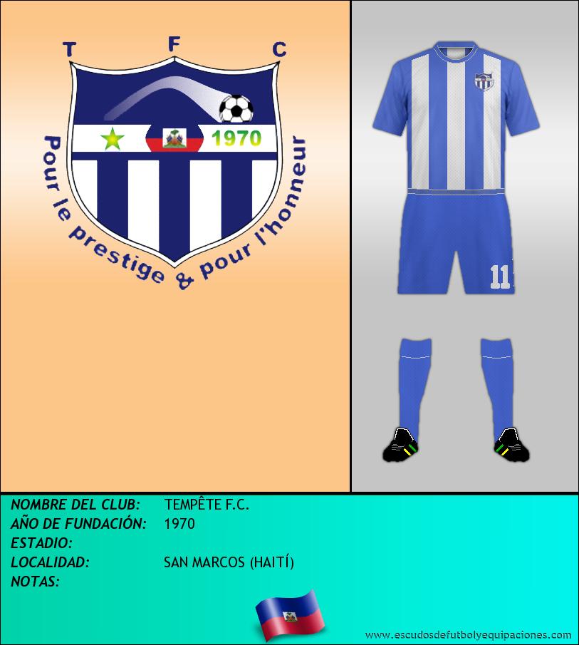Escudo de TEMPÊTE F.C.