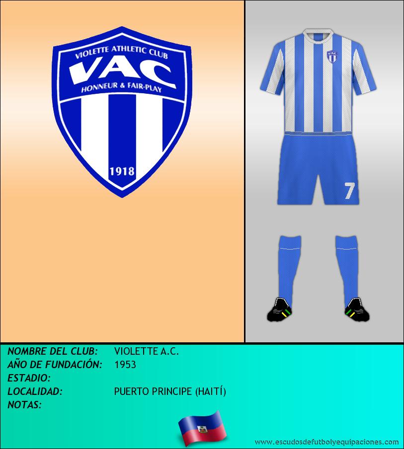 Escudo de VIOLETTE A.C.