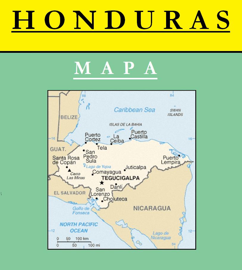 Escudo de MAPA DE HONDURAS