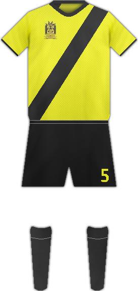 Equipación HISPANO FC