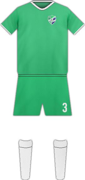 Equipación YORO FC