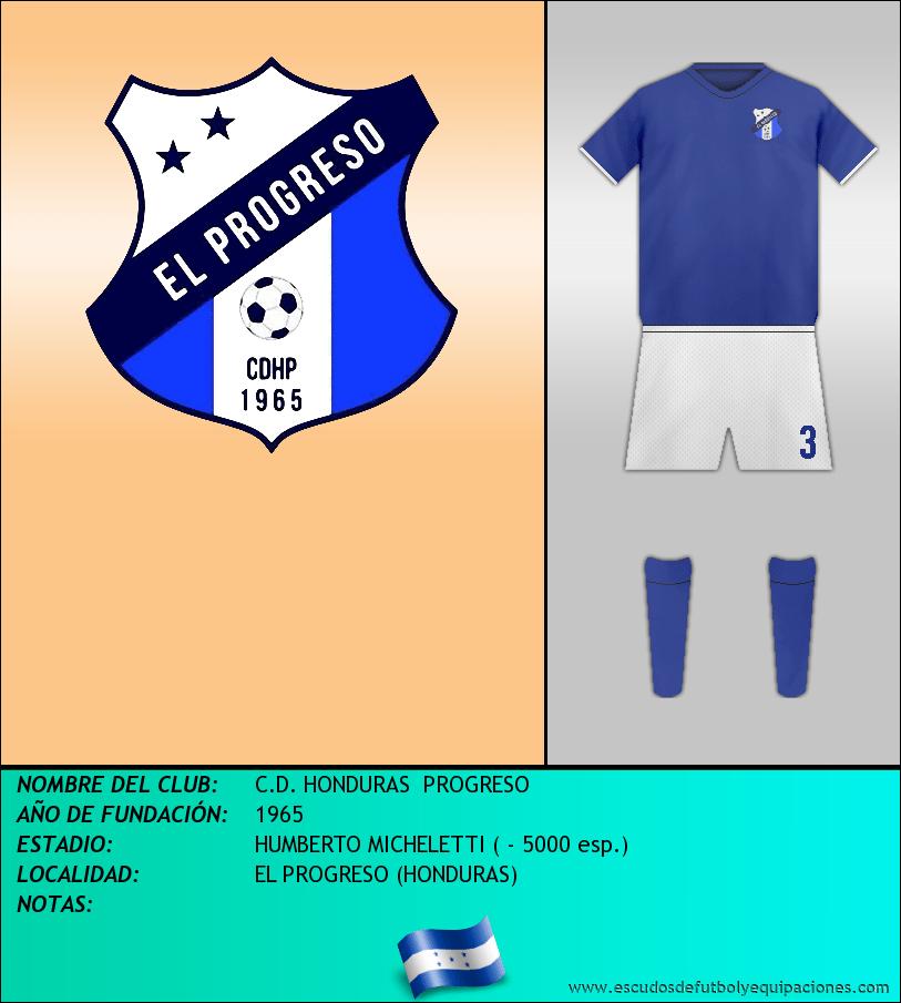 Escudo de C.D. HONDURAS  PROGRESO
