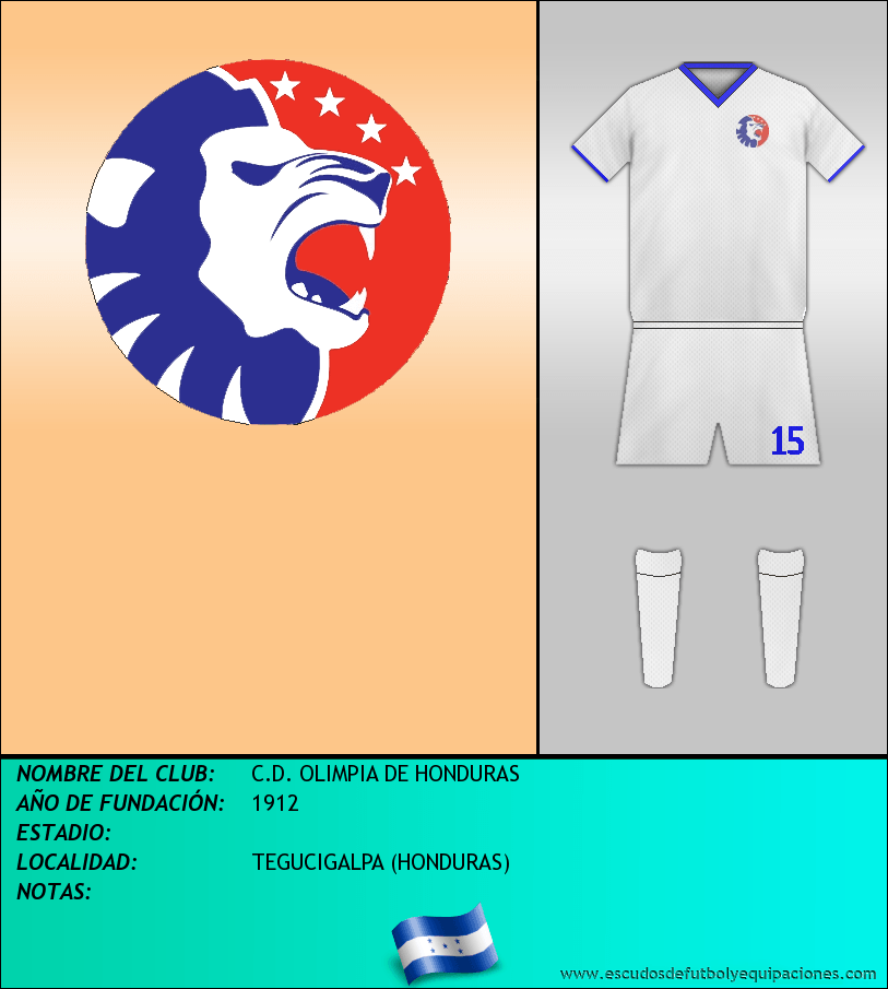Escudo de C.D. OLIMPIA DE HONDURAS